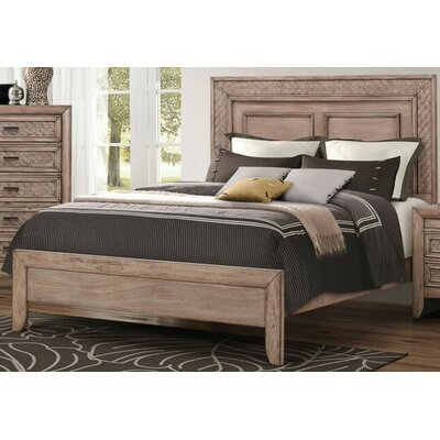 Kerber Panel Bed Size: King