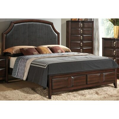Crabb Upholstered Panel Bed Size: King