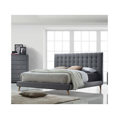 Cleitus Upholstered Platform Bed Size: Queen