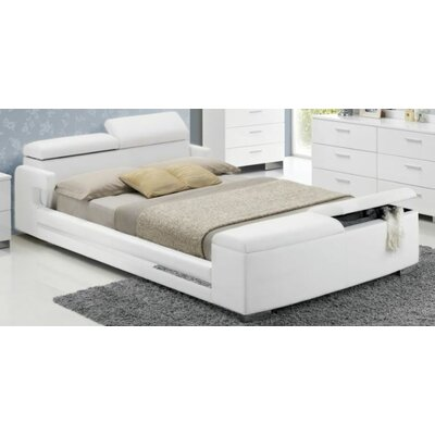 Horst Platform Bed with Storage Size: Queen