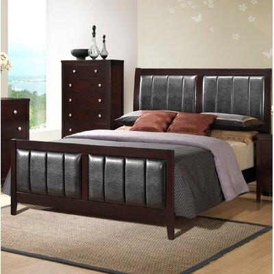 Callicoat Upholstered Panel Bed Size: King