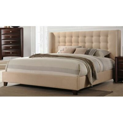 Janney Upholstered Platform Bed Size: King