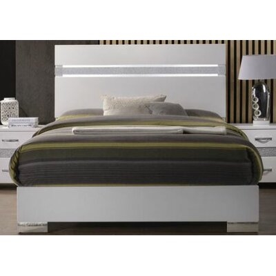 Hulbert Upholstered Panel Bed Size: Queen