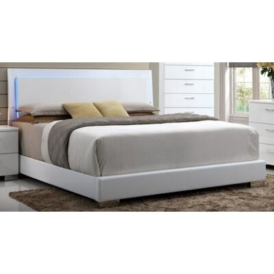 Jantz Upholstered Panel Bed Size: Queen