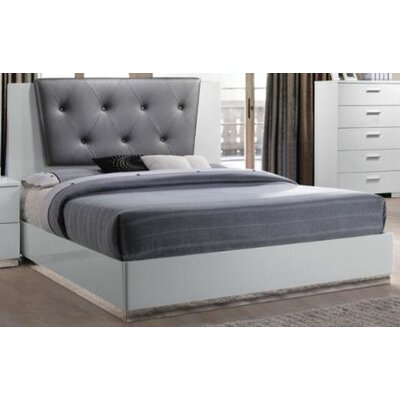 Jantzen Upholstered Panel Bed Size: King