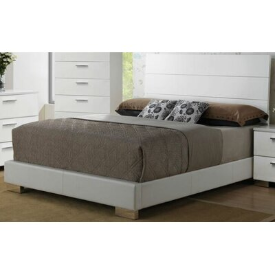 Jasinski Upholstered Panel Bed Size: King