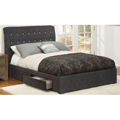 Jaydin Upholstered Platform Bed Size: King