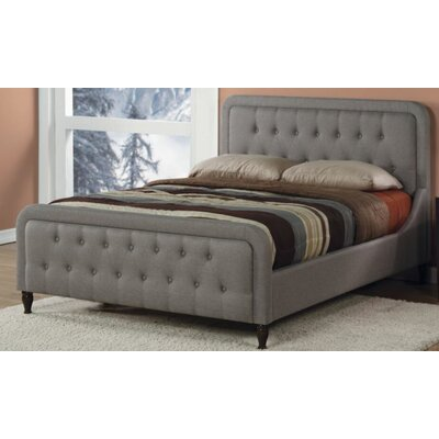 Upholstered Bed Size: King