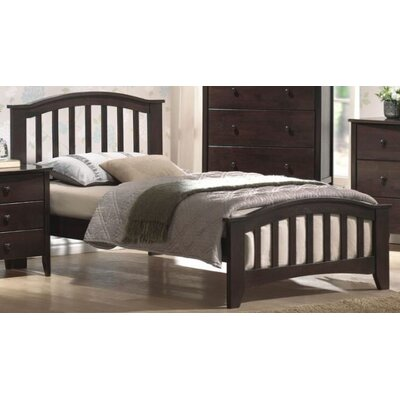 Bed Size: Full, Color: Dark Walnut