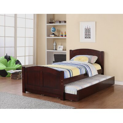 Dalley Twin Platform Bed with Trundle Bed Frame Color: Brown