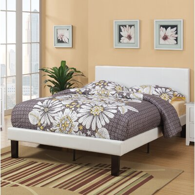 Menendez Panel Bed Size: Full, Bed Frame Color: White