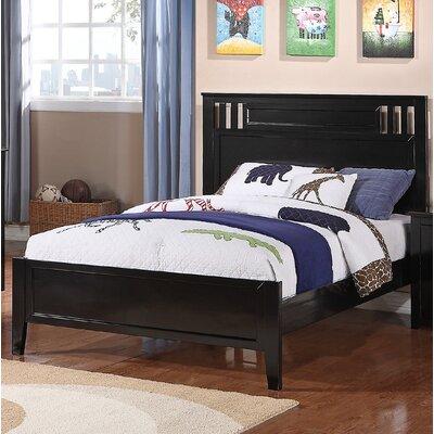 Dalke Panel Bed Size: Full, Bed Frame Color: Black