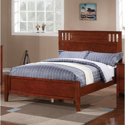 Dalke Panel Bed Size: Twin, Bed Frame Color: Brown
