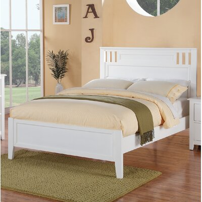 Dalke Panel Bed Size: Twin, Bed Frame Color: White
