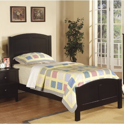 Daub Twin Platform Bed Color: Black