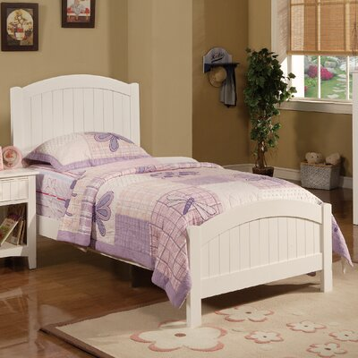 Daub Twin Platform Bed Color: White