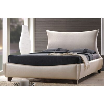 Glendenning Upholstered Panel Bed Size: European King