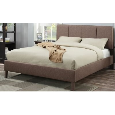 Glendenning Upholstered Panel Bed Size: Queen