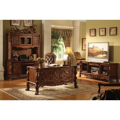 Impressive Executive Desk Hutch Chair Set Product Photo
