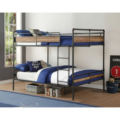 Edelen Bunk Bed Size: Queen