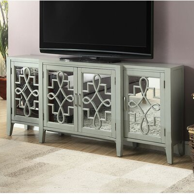 Ingle 72 TV Stand Color: Antique gray