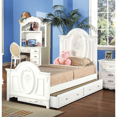 Egbert Panel Bed with Trundle Size: Twin