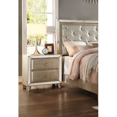 Lanza 2 Drawer Nightstand