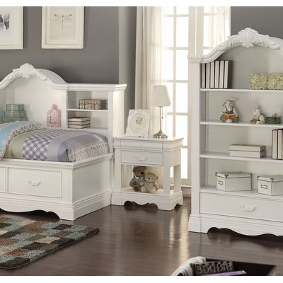Eustice 2 Drawer Nightstand
