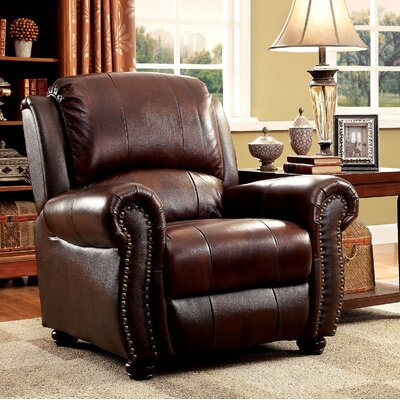 Bettis Armchair Upholstery: Brown