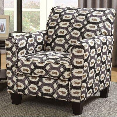 Katsikis Armchair Upholstery: Brown