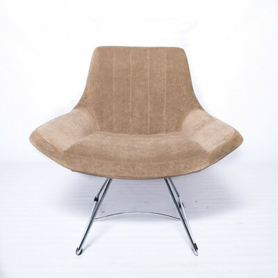 Selox Lounge Chair Upholstery: Beige