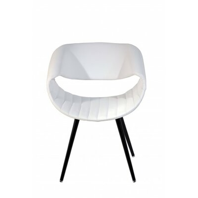 Free Lounge Chair Upholstery: White