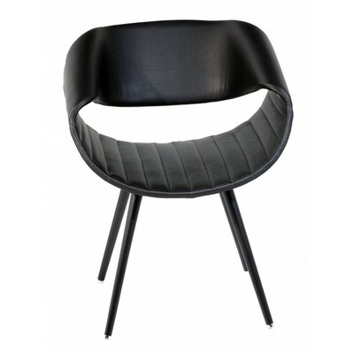 Free Lounge Chair Upholstery: Black