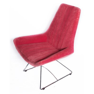 Keops Lounge Chair Upholstery: Red
