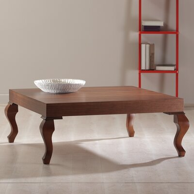 Lukens Coffee Table Color: Walnut