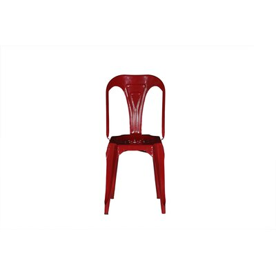 Remington Side Chair Color: Red