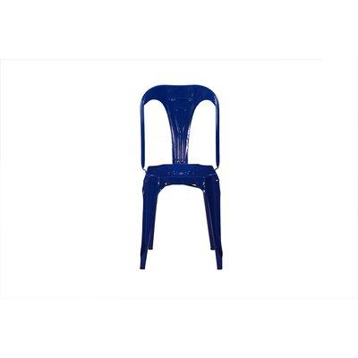 Remington Side Chair Color: Blue