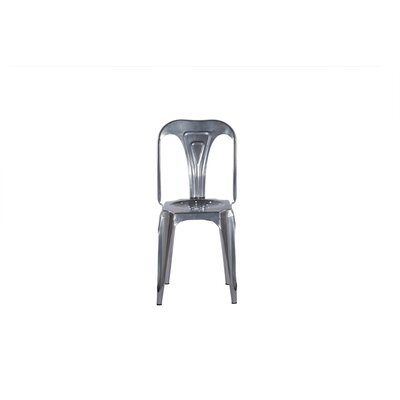 Remington Side Chair Color: Silver