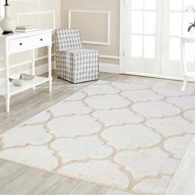 Artz Soft White/Beige Area Rug