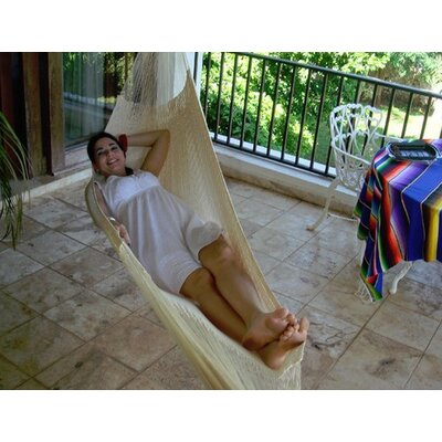 Cotton Tree Hammock Color: Natural