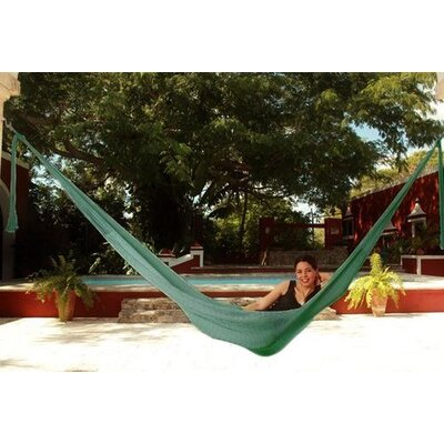 Cotton Tree Hammock Color: Green
