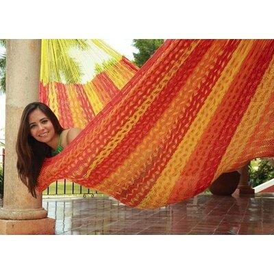 Cotton Tree Hammock Color: Tequila