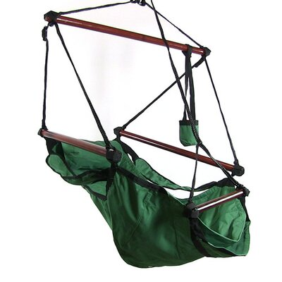 Polyester Chair Hammock Color: Green