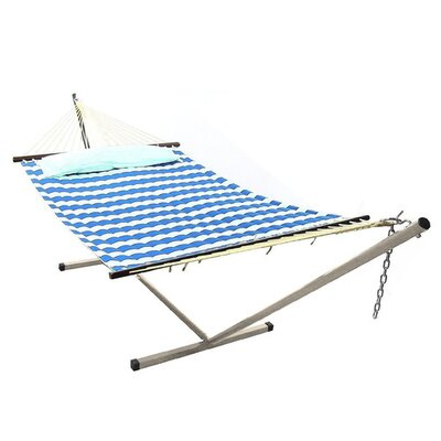 Royal Polyester Hammock with Stand Size: 15