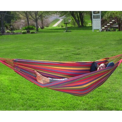 Cotton Tree Hammock Color: Tropical