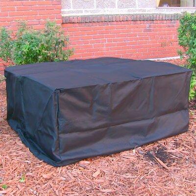 Fire Pit Cover Size: 18 H x 40 W x 40 D, Color: Black