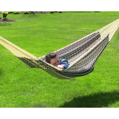 Cotton Tree Hammock Color: Black / Natural