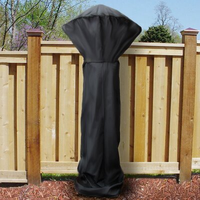 Patio Heater Cover Color: Black