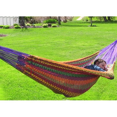 Cotton Tree Hammock Color: Multicolor