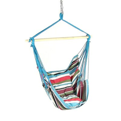 Hanging Chair Hammock Color: Cool Breeze
